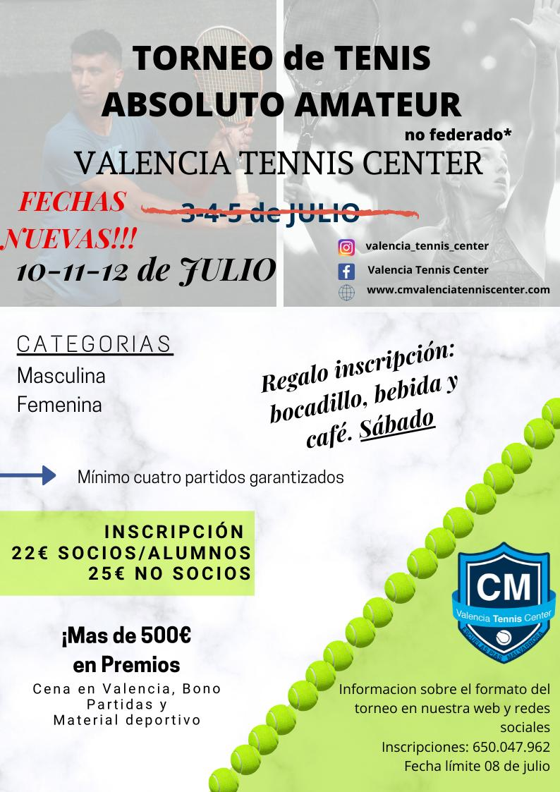 Torneo de Tenis Absoluto Amateur 1