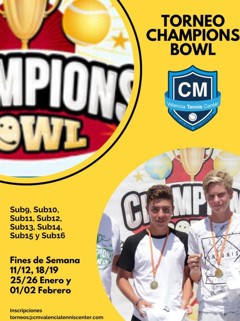 Torneo Champions Bowl CM Valencia Tennis Center