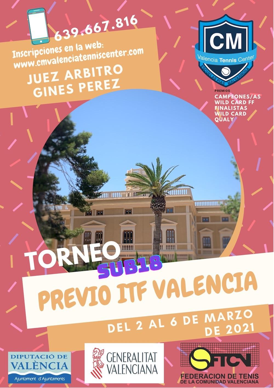 Torneo Previo ITF Junior Valencia Tennis Center 2021 1