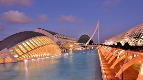 Valencia - Atardecer en la Ciudad de las Artes